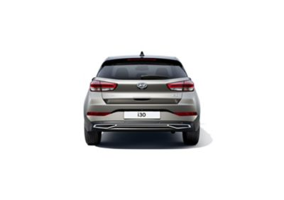 Rear view of the new Hyundai i30.